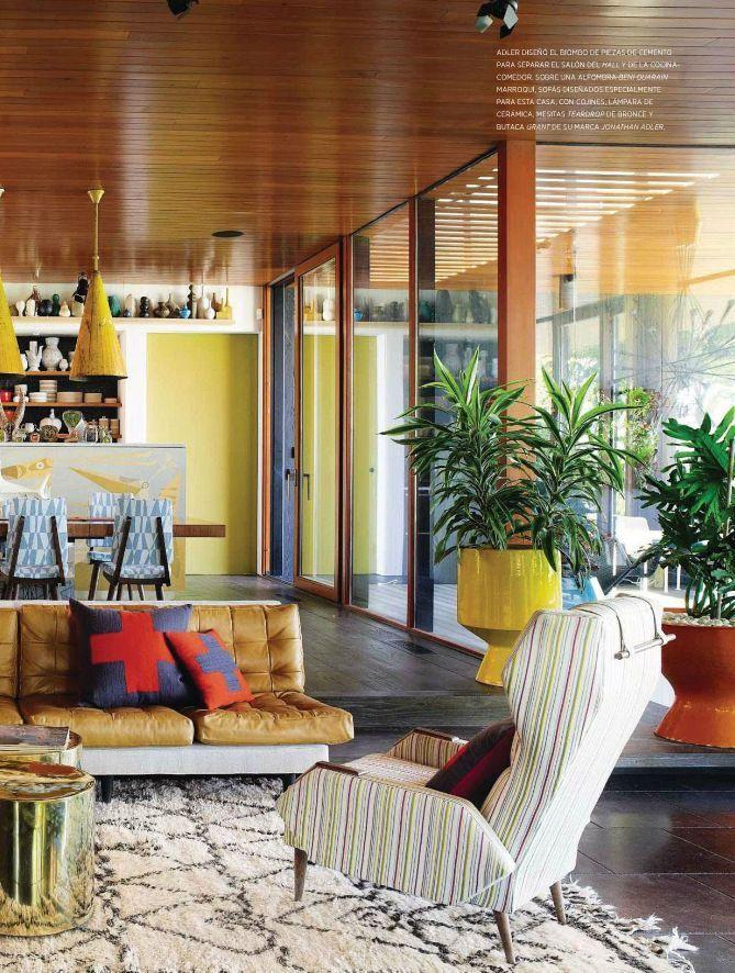25 Midcentury Living Room Design Ideas Mid century modern living