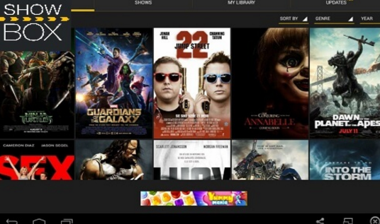 Top 5 Apps Like ShowBox 2018 Movie Streaming