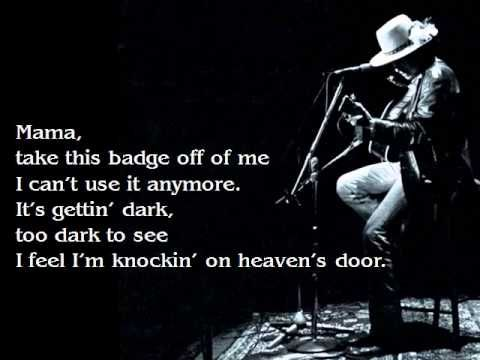 Bob Dylan Knocking On Heavens Door Lyrics I I Will Never Understand It About This Song When It Came Out I Just Dang We Bob Dylan Quotes Bob Dylan Soul Songs