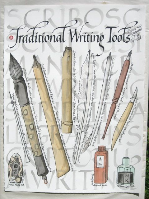Traditional Writing Tools by ruth.venner, via Flickr