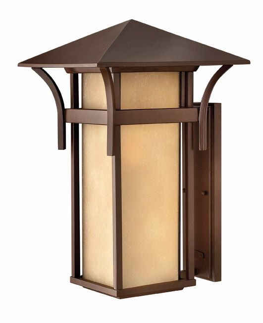 hinkley lighting 2579ar led harbor anchor bronze outdoor wall sconce