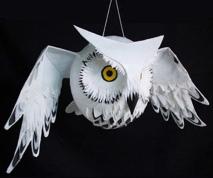 DIY Owl Piñata | Гарри поттер сова, Тема гарри поттера и ...