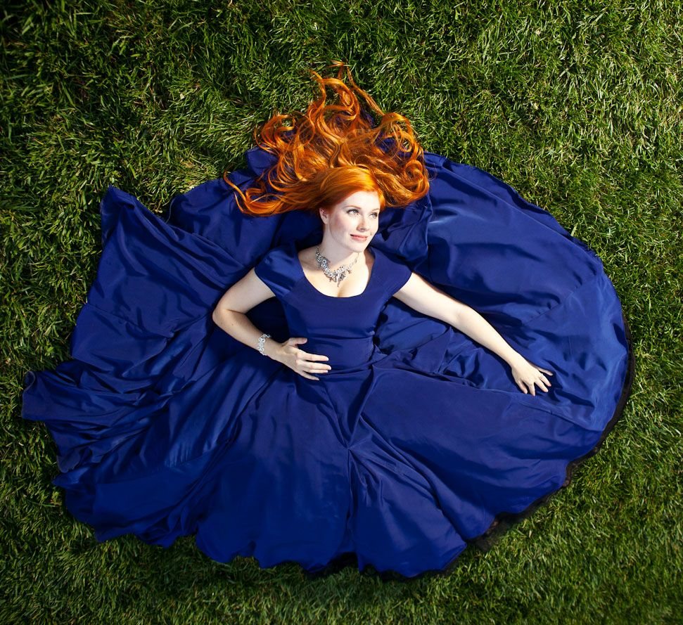Non Traditional Wedding Dresses With Color: Traditionally Irish Brides Wear Blue, The Traditional