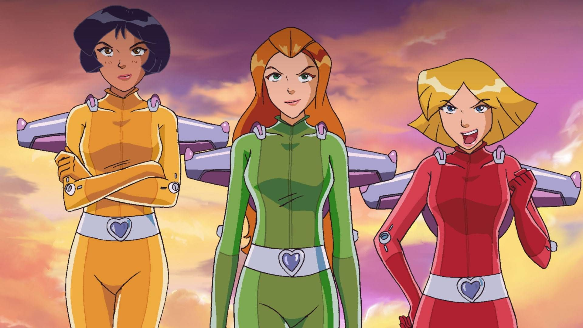 Totally spies the inspiration totally spies powerpuff girls and puff girl - Deguisement totally spies adulte ...