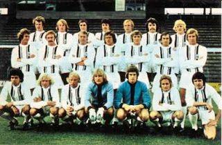 Borussia Mönchengladbach RETRO-maglia maglia di casa 1973