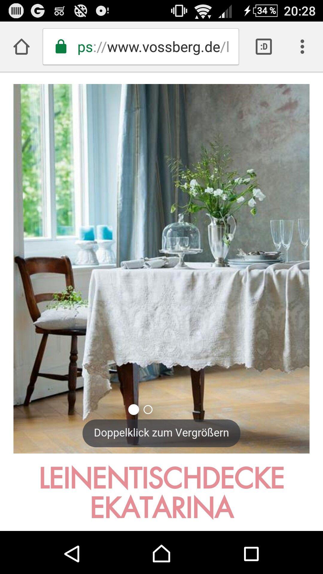 Vintage Tischdecke Leinentischdecke Tisch Haus Deko