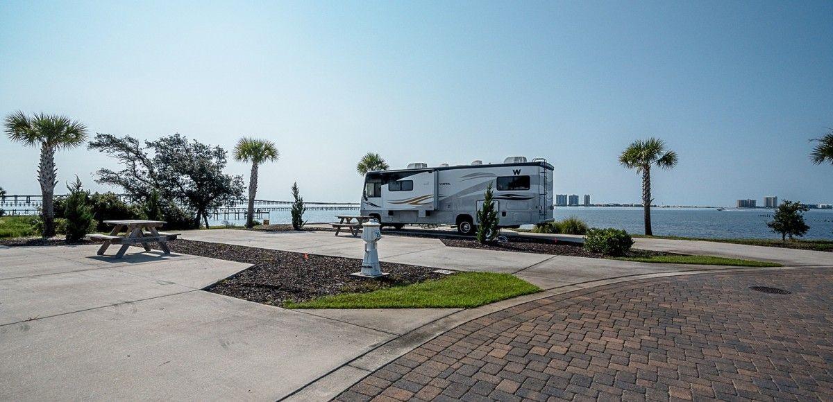 Photo Gallery See Our Waterfront Rv Resort On Santa Rosa Sound In Navarre Fl Santa Rosa Rv Resort Resort Navarre Florida Florida