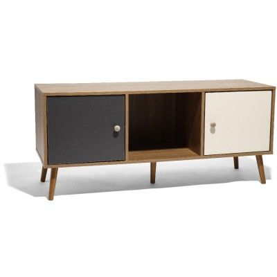 meuble tv scandinave industriel et design meuble tv. Black Bedroom Furniture Sets. Home Design Ideas