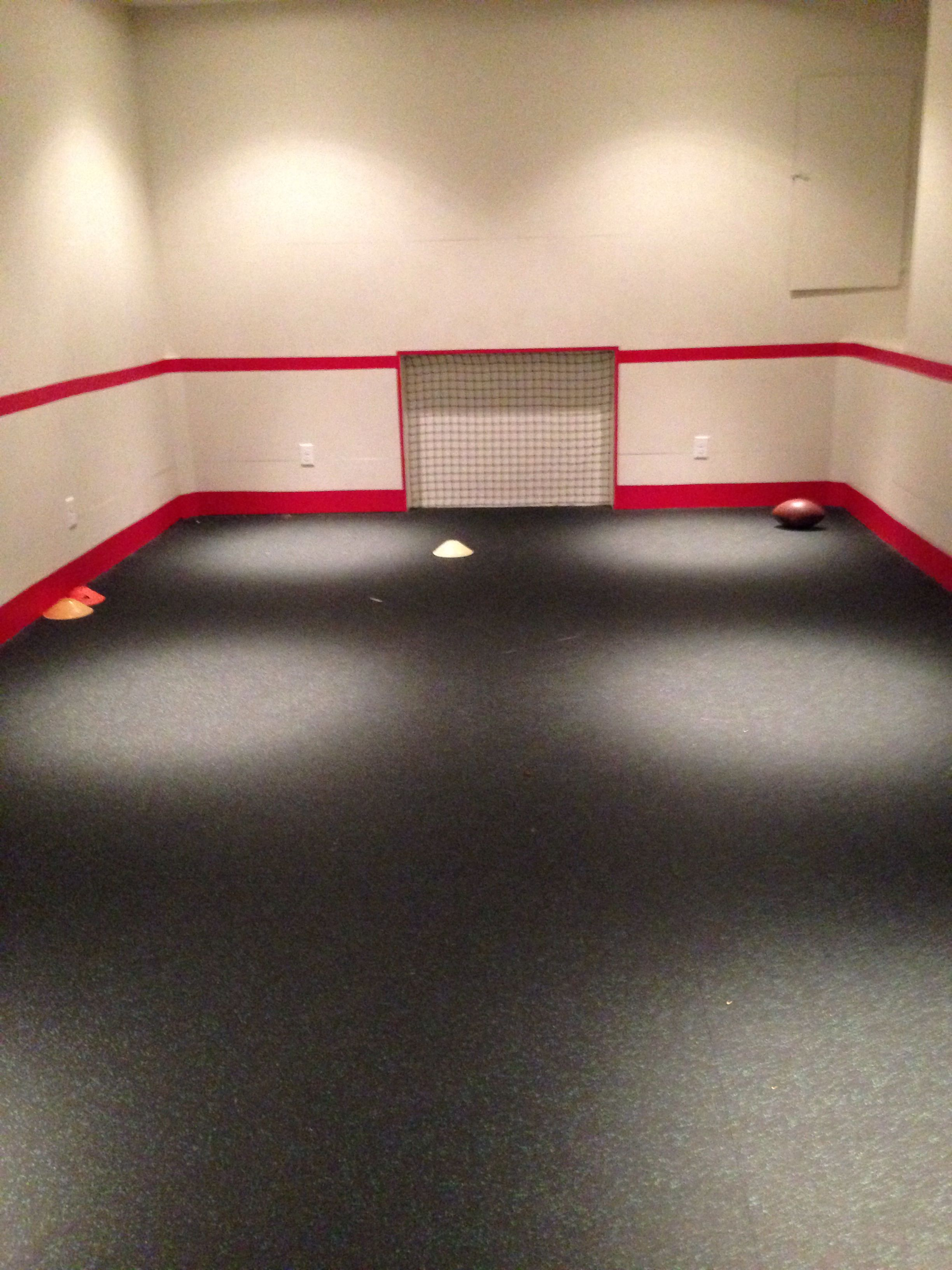 Room Converted Into Indoor Soccer