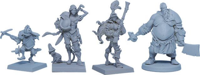 The Iron Inquisition box contains 8x of each Deckhand Sculpt (Square bases) and 6x Bosun Sculpt (Round base)
