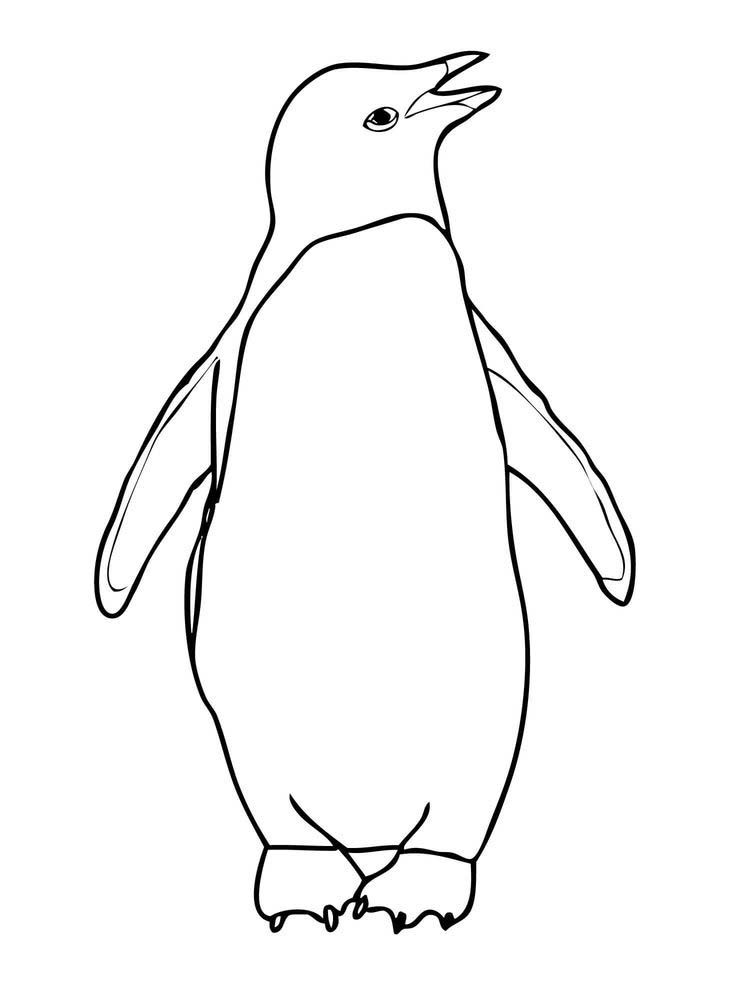 321 Penguins Coloring Pages Penguins Are Aquatic Species Of Birds That Cannot Fly And Generall Penguin Coloring Penguin Coloring Pages Coloring Pages For Kids