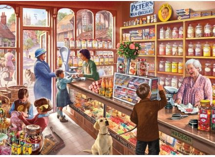 Wentworth General Store Wooden 500 Piece Jigsaw Puzzle