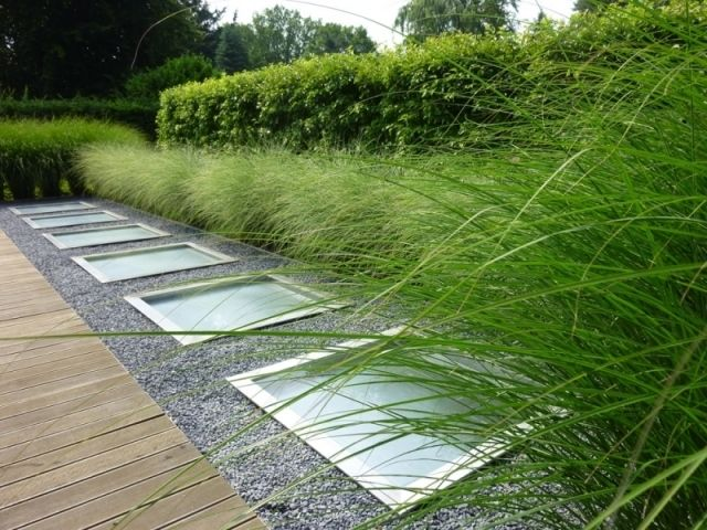 Moderner Garten Mit GräsernModerne Gartengestaltung Mit Grasern - moderner garten mit grasern