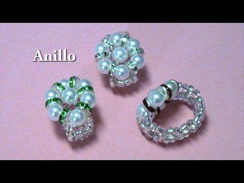 #DIY - Pulsera de perlas y strass #DIY - Pearl and Rhinestone Bracelet - YouTube