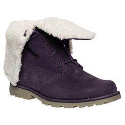 Girls' Grade School Timberland 6-inch Fold-down Shearling Boots | Finish Line