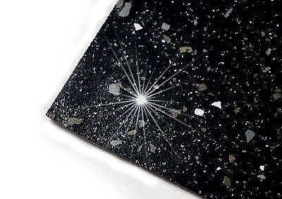 Black Sparkle Safety Flooring Kitchen Floor Vinyl Lino Sparkly Glitter Wetroom Vinyl Flooring Kitchen Flooring Safety Floor