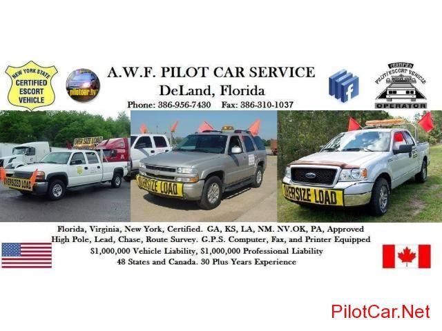 AWF Pilot Car Service Information DeLand - Pilot Car Net   My Style ...