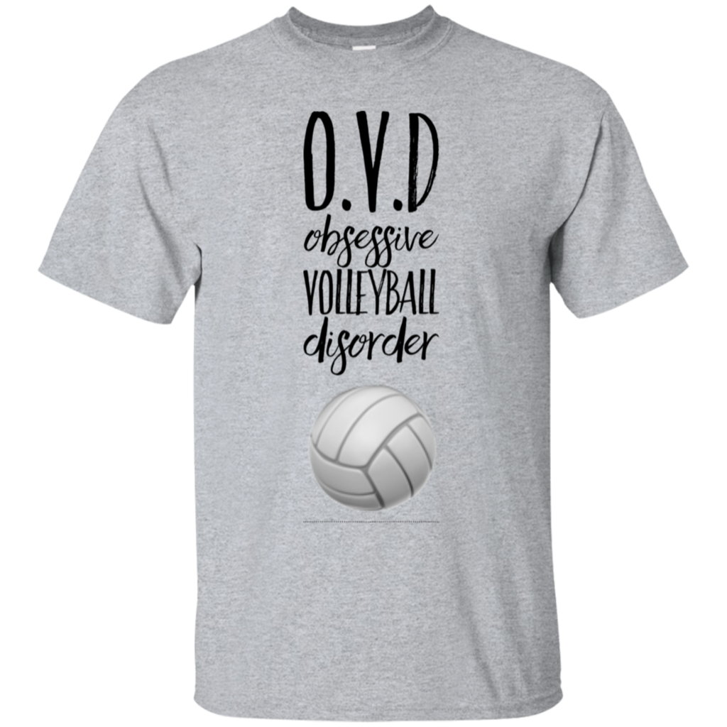 O V D Obsessive Volleyball Disorder T Shirt Volleyball Shirt Designs Funny Volleyball Shirts Volleyball Shirts