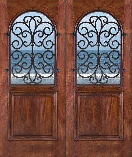 Mahogany Victoria Double Doors  sc 1 st  Pinterest & Mahogany Victoria Double Doors   home u0026 design   Pinterest   Doors ... pezcame.com