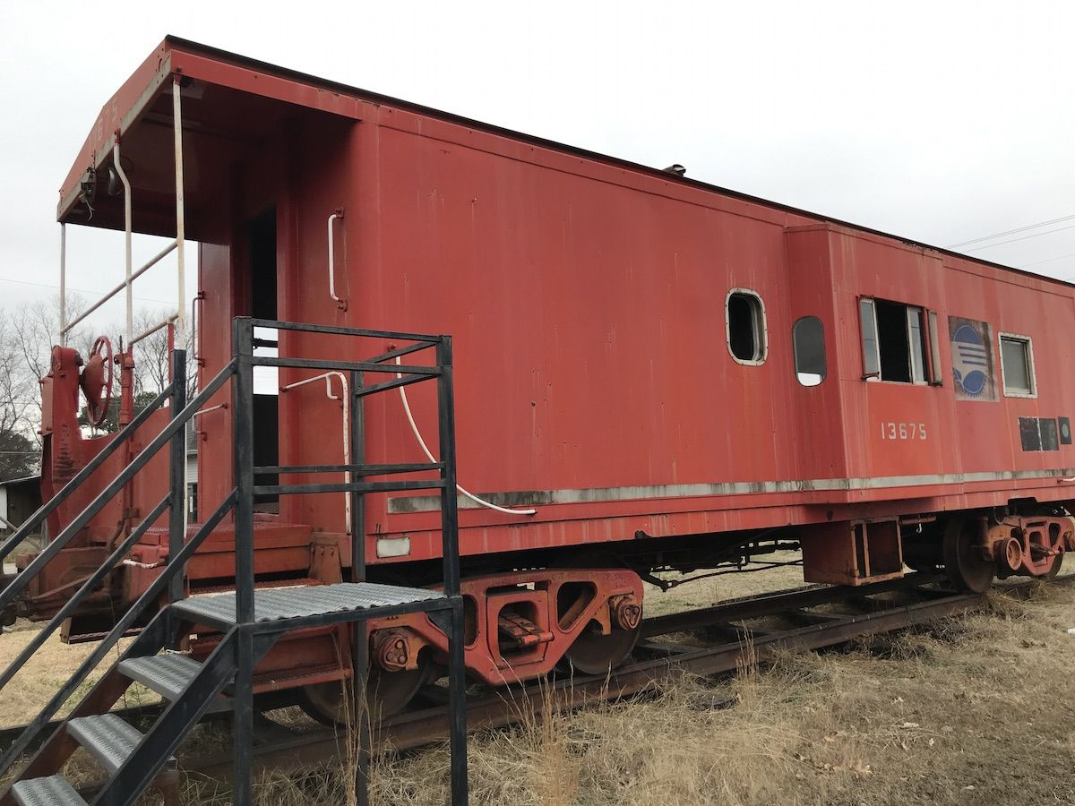 Historic trains of arkansas a series cabooses only in