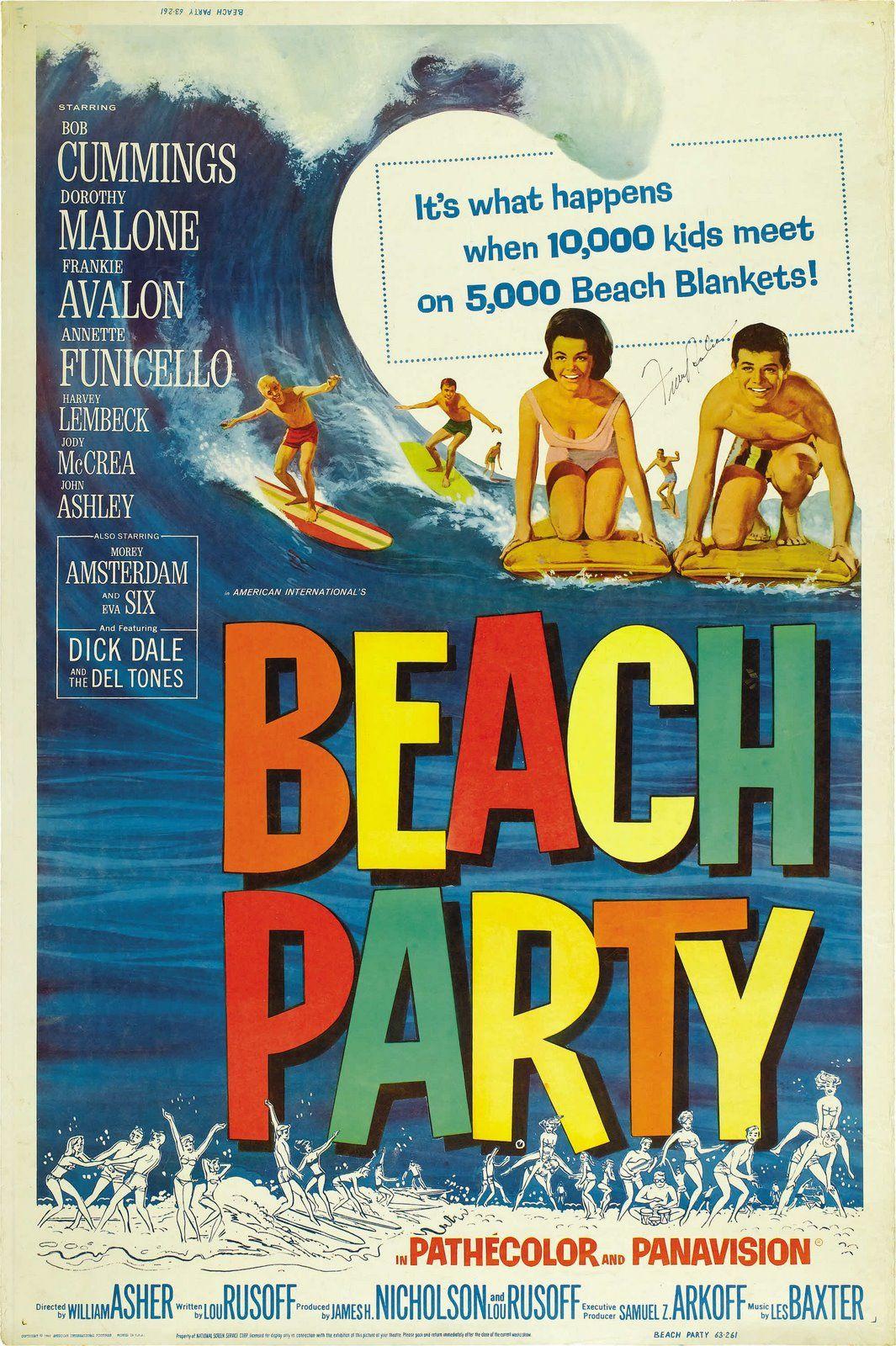 Retro Gidget Surf Posters