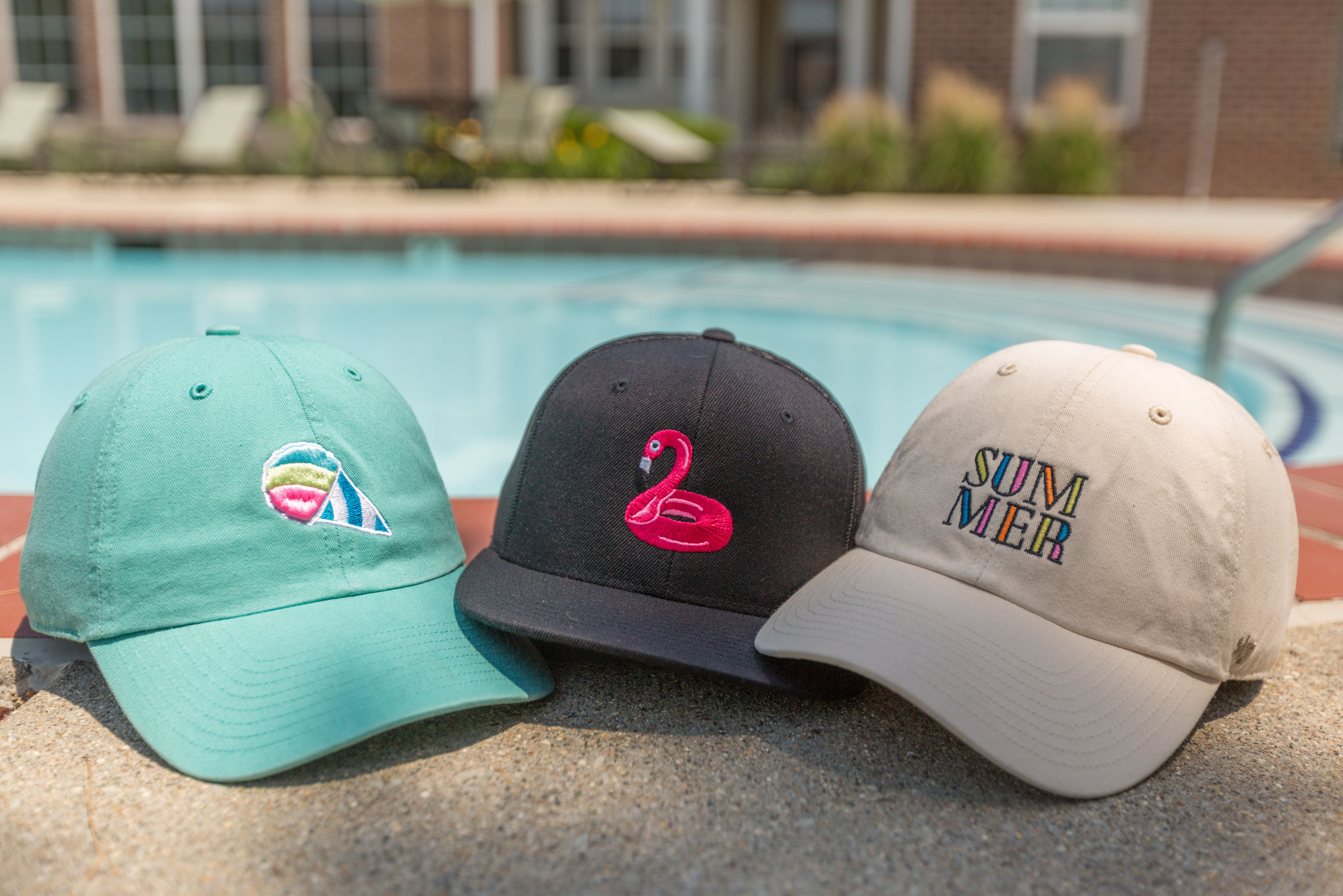 Find your new summer dad hat with a custom hat from Lids