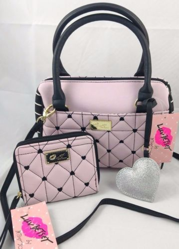 LUV BETSEY BY BETSEY JOHNSON | Bonie Quilted Heart Crossbody | Nordstrom Rack