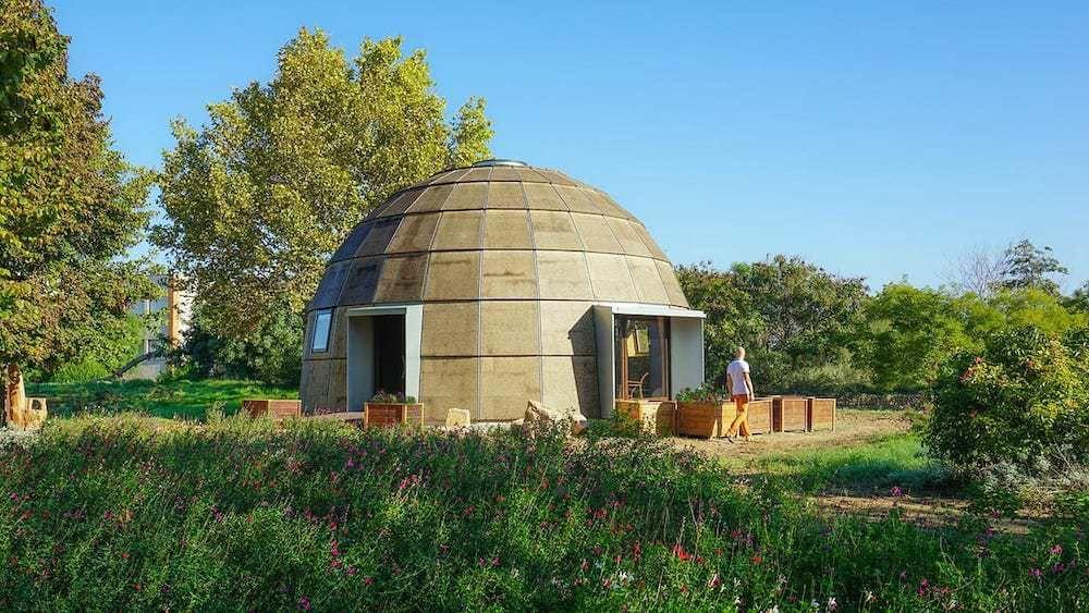 Chapeau Vert, un domo ecológico que podrás montar tu mismo  10 MARZO, 2017