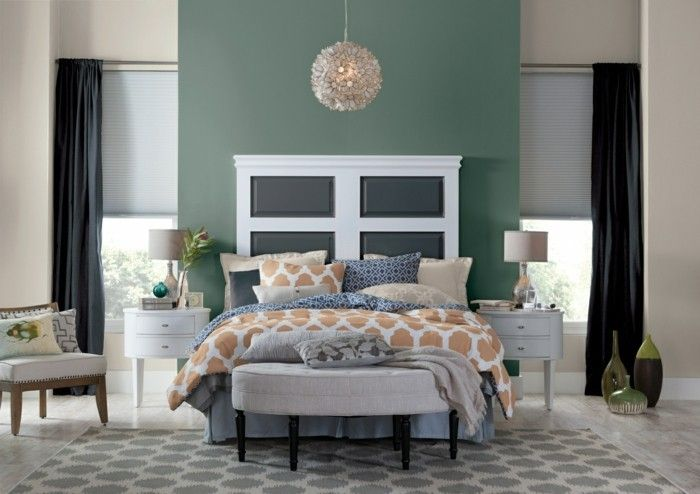Paint Designs For Bedroom Impressive Housing Trends2017 Wall Color Pastel Green Wall Decoration Wall Design Ideas