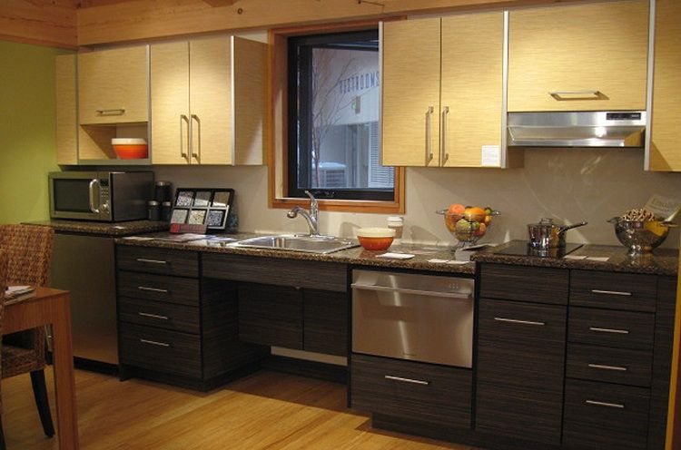 universal design kitchen cabinets fabcab builds universal design prefabs for aging in place 27703