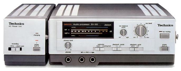 Technics SV-100 (around 1983)