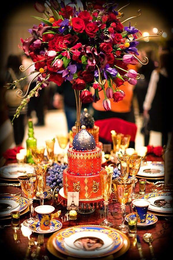 centro de mesas para fiesta arabe buscar con google