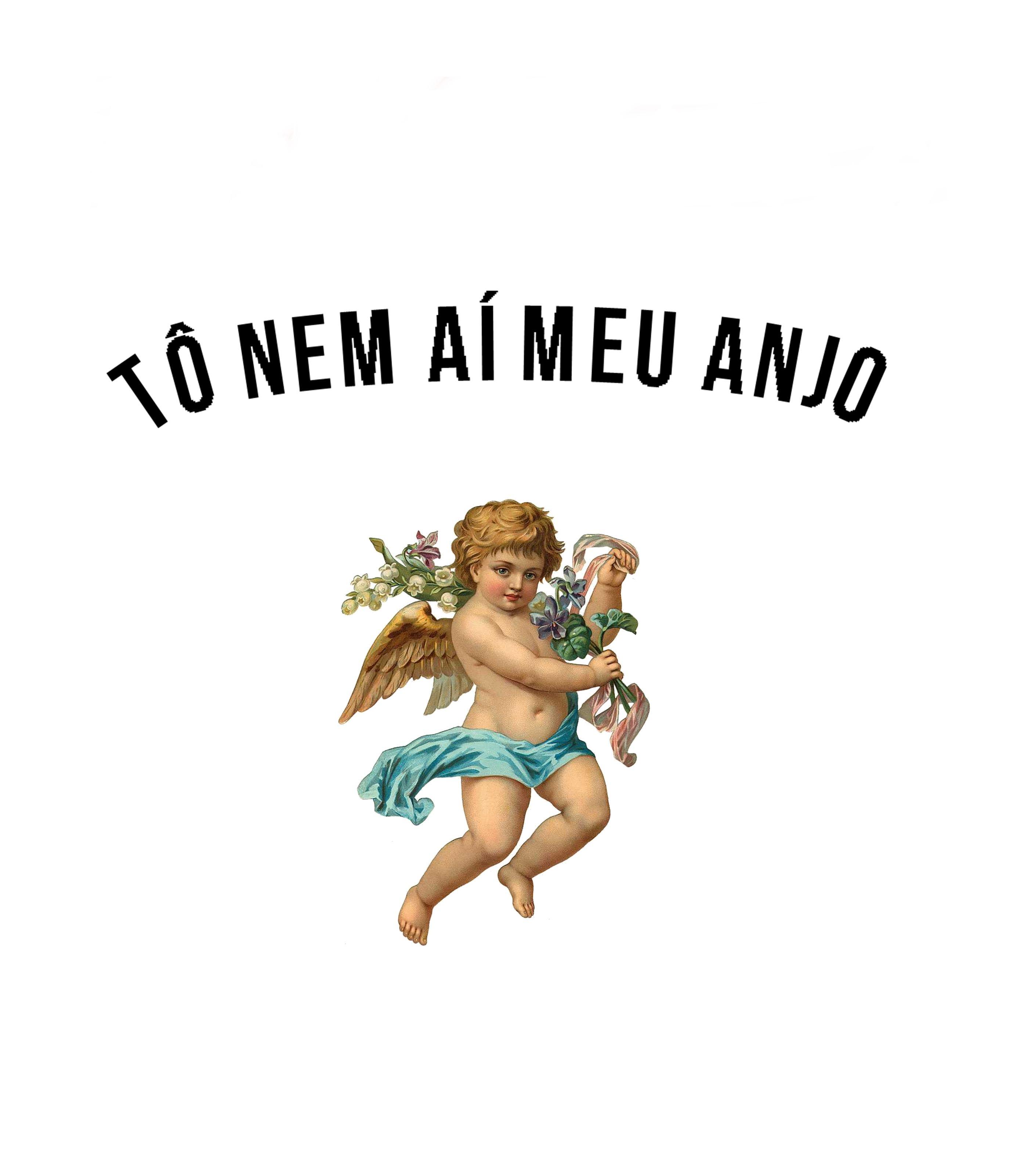 Camiseta To Nem Ai Meu Anjo Vandal Em 2020 Com Imagens