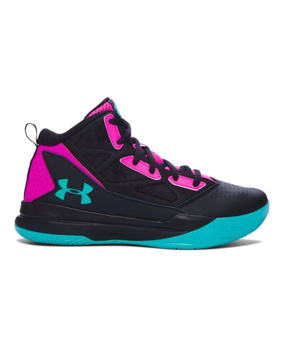 496a3f21f613f Amazon.com   Under Armour Girls' Grade School UA Jet Mid Basketball ...