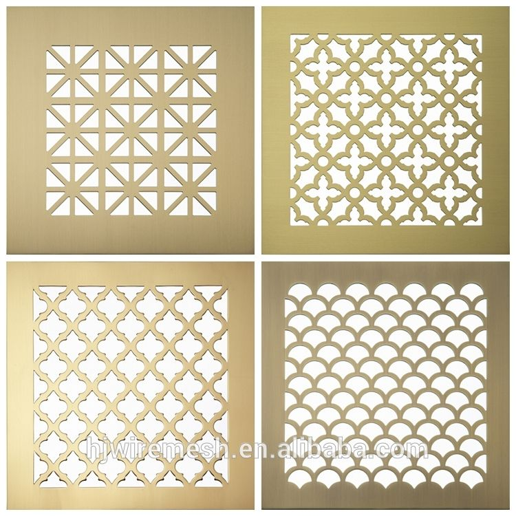 Time To Source Smarter Perforated Metal Decorative Panels