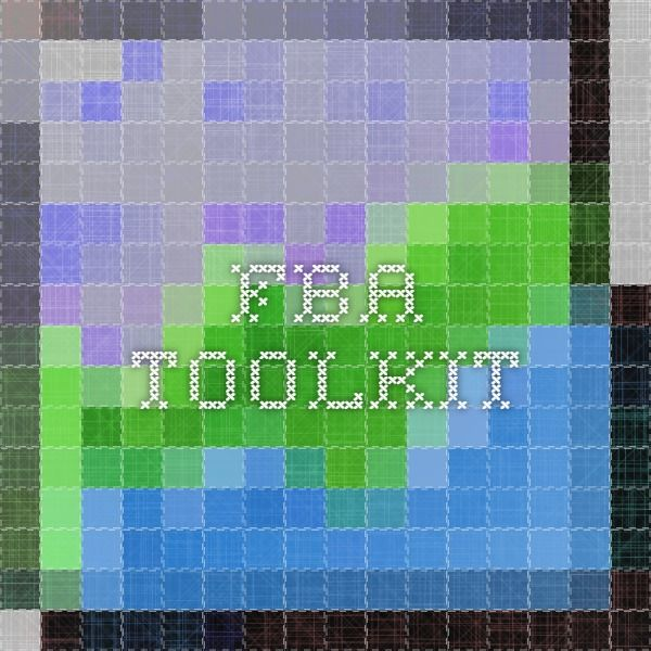fba toolkit