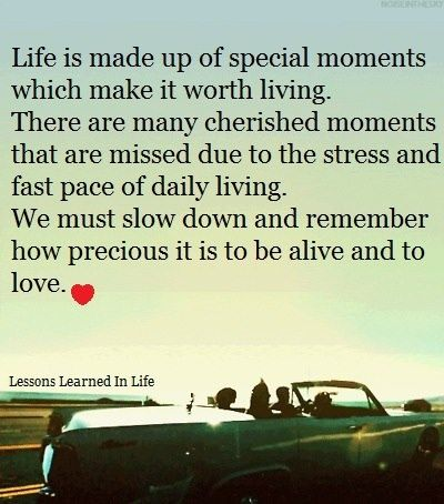 Quotes About Slowing Down And Enjoying Life Slow Down And Enjoy