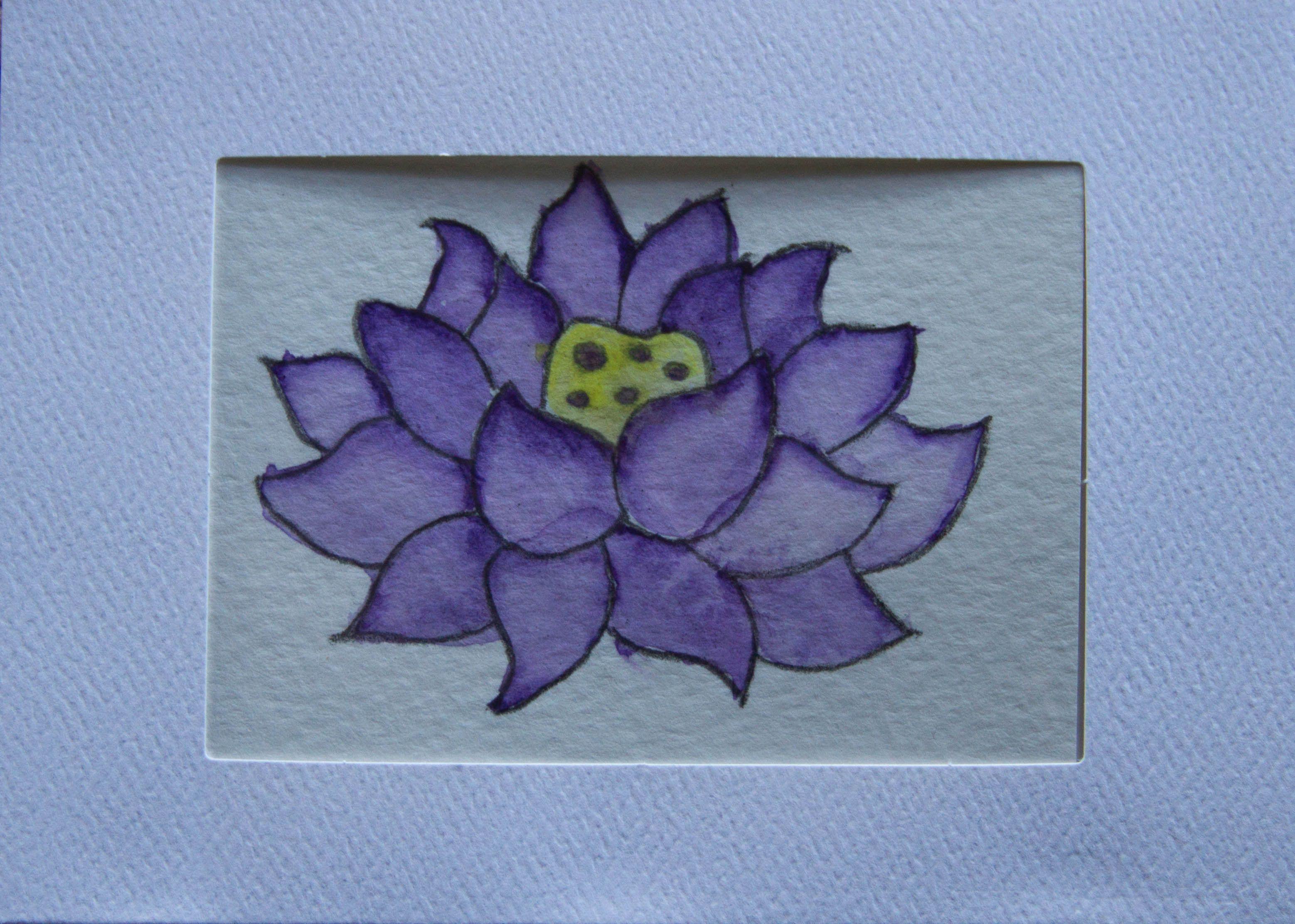 Lotus flower art work things i like pinterest lotus flower art lotus flower art work izmirmasajfo