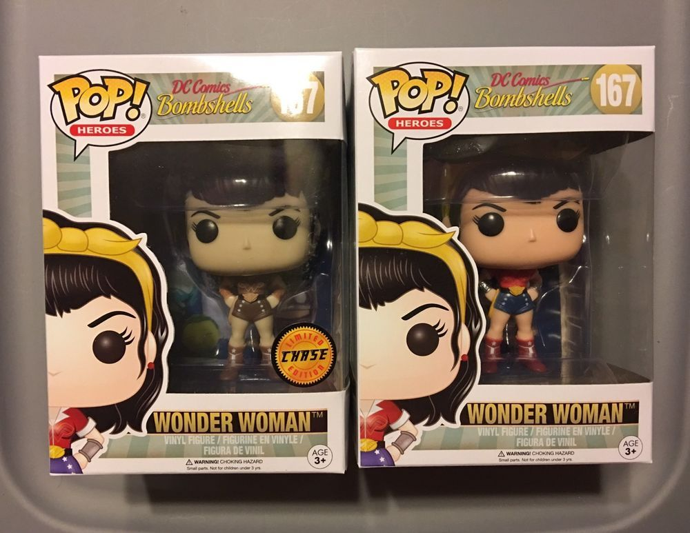 Heroes #167 Vinyl figurine Funko Wonder Woman bombshells dc Comics Pop