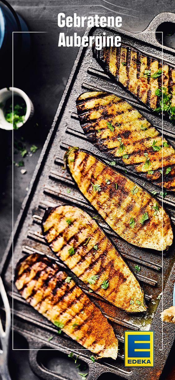 Gebratene Auberginen - Rezept | EDEKA #vegetariangrilling