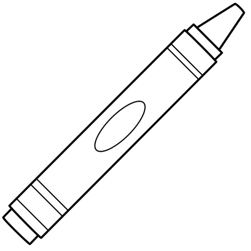 crayon-coloring-pages | School coloring pages, Coloring ...