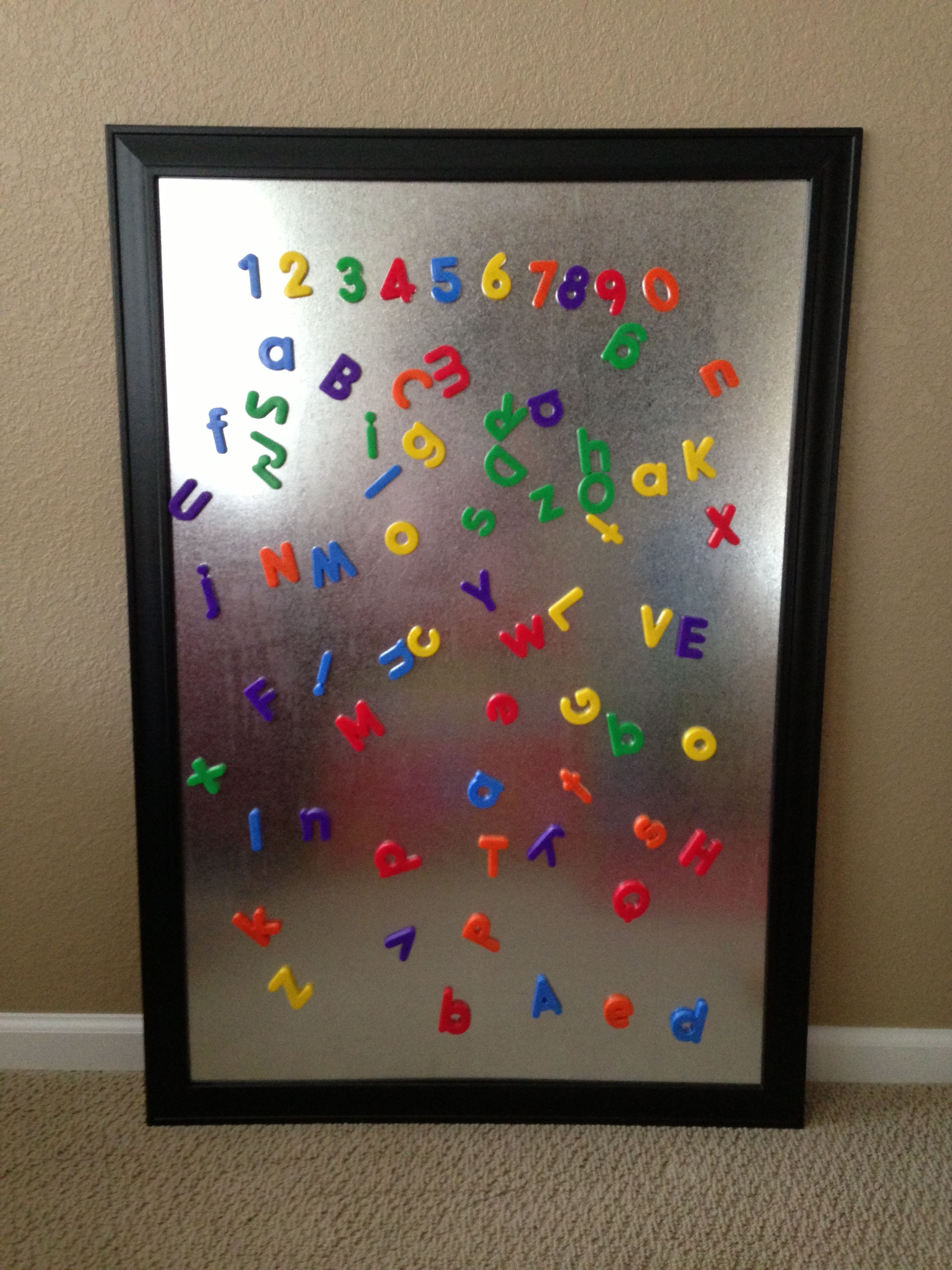 magnetic board for playroom very