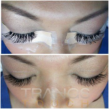 375afaaf1a2 Previous lashes were done by inexperienced stylist... Lashes were fixed and  extended by Trang for a more clean, natural look   Yelp