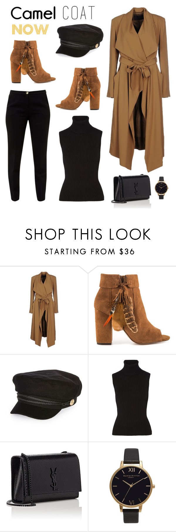 """Autumnal Style"" by lulu13nyc ❤ liked on Polyvore featuring Plein Sud, Jessica Simpson, River Island, Michael Kors, Yves Saint Laurent, Olivia Burton and Ted Baker"