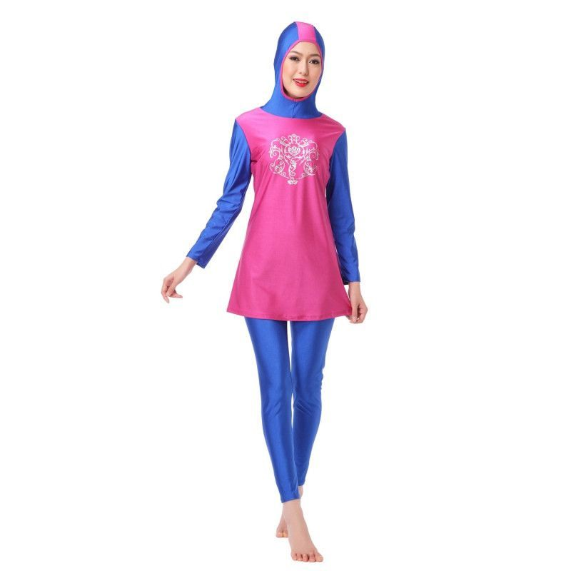Islamic Swimwear Islamic Swimsuit Women Hijab Full Coverage Swimwear Muslim Swim Beachwear