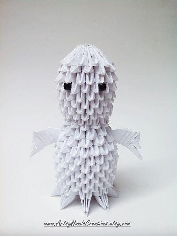 3d Origami Halloween Ghost By ArtsyHandsCreations
