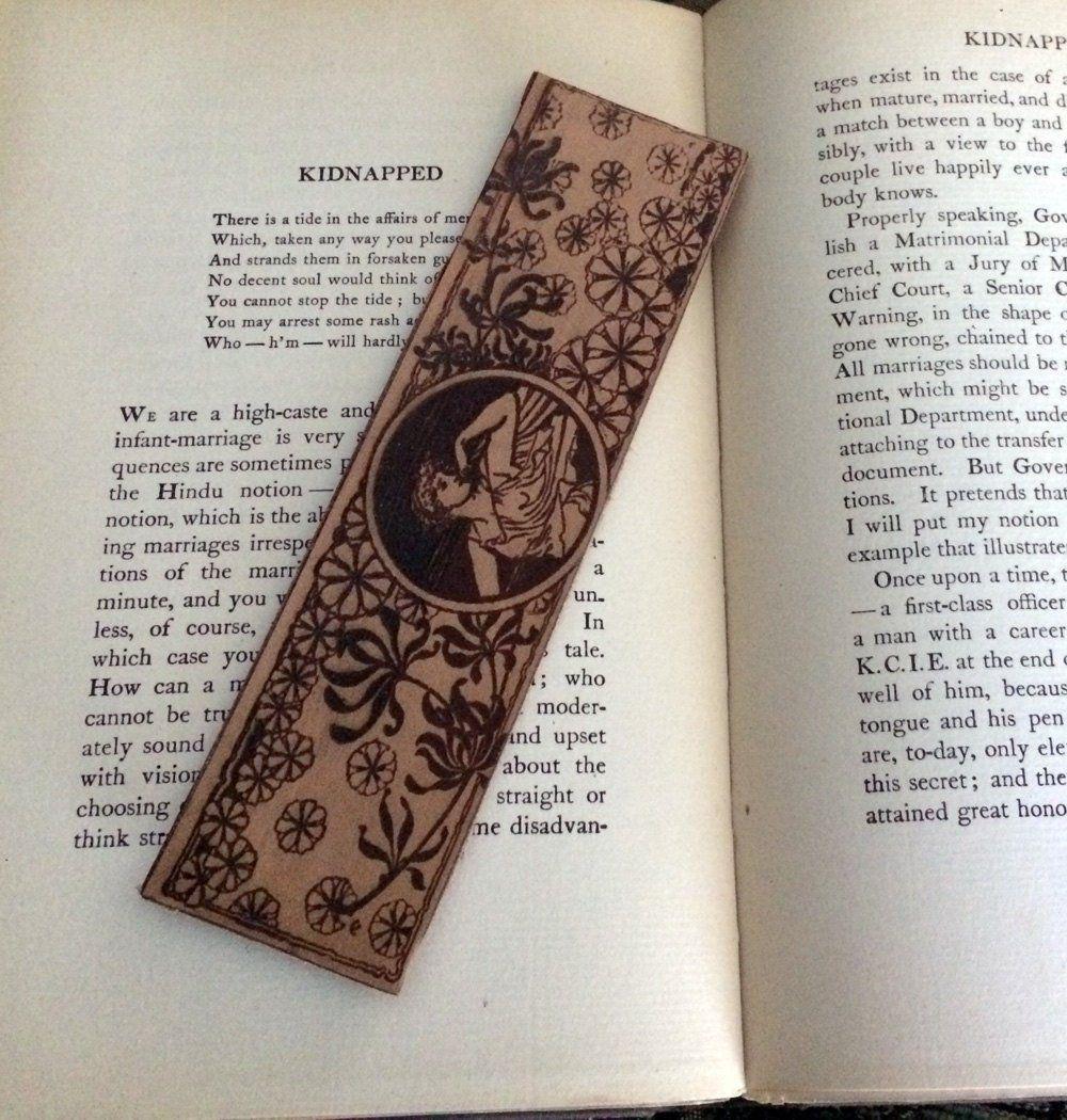 Flower Maiden Bookmark, Greek Bookmark, Roman Bookmark, Art