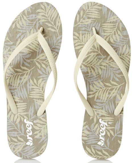 Reef Chakras Flip Flops Flip Flops - Taupe Palms