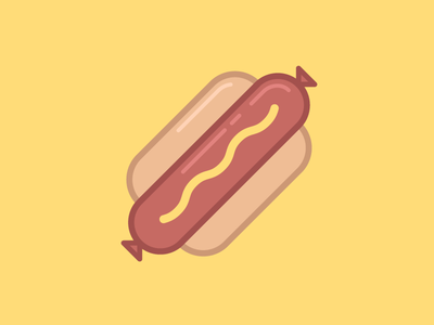 Hot Dog Icon Hot Dogs Dog Icon How To Make Tea