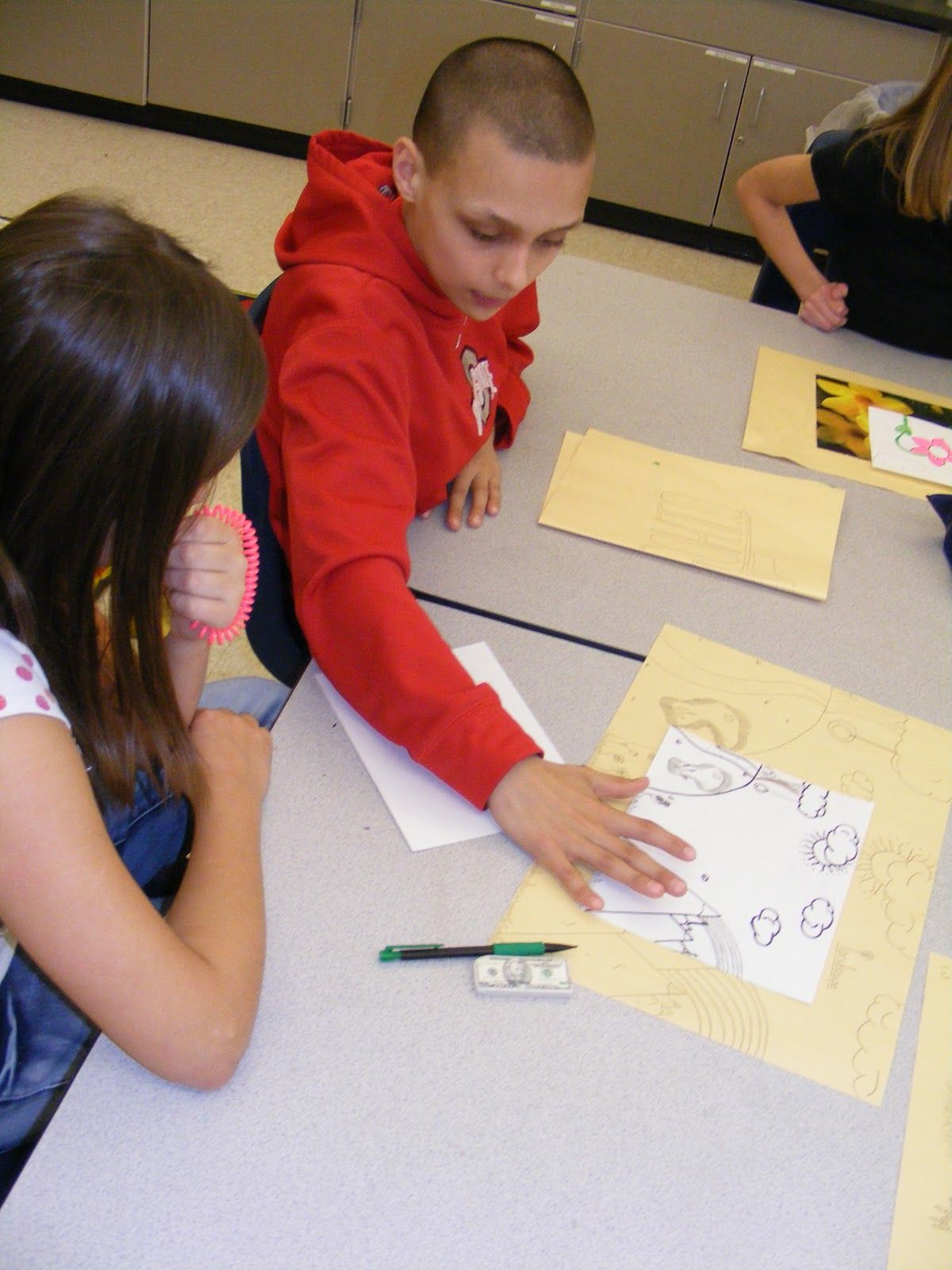 Art Critique 5th Grade Style